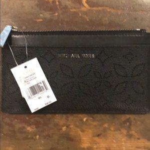 Michael Kors Black Slim Card Case